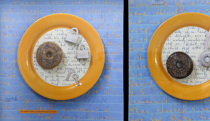 My Mother's Stories, Served with Bagels and Locks, detail