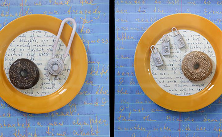My Mother's Stories, Served with Bagels and Locks detail