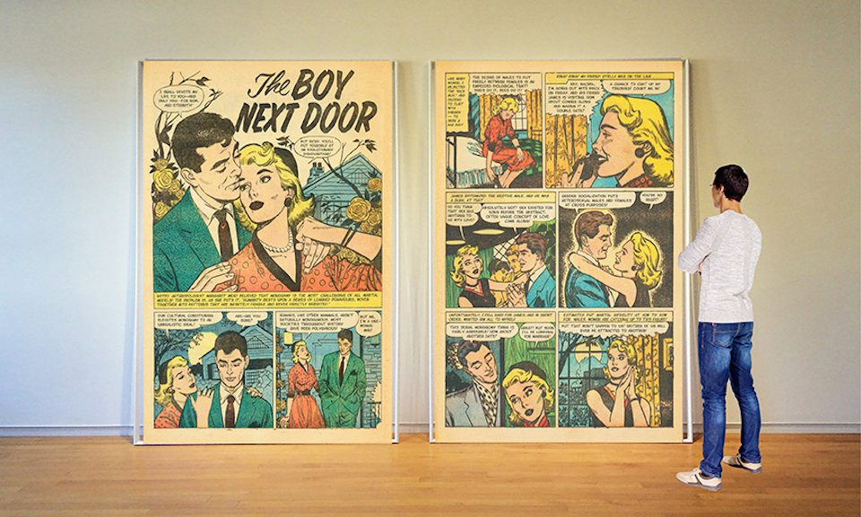 The Boy Next Door by Nava Atlas