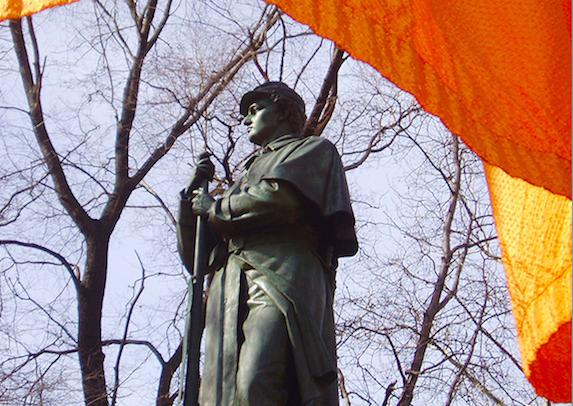 "Christo ""Gates"" Central Park 2005"