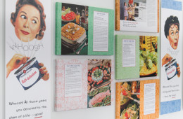 Secret Recipes for the Modern Wife (Installation)