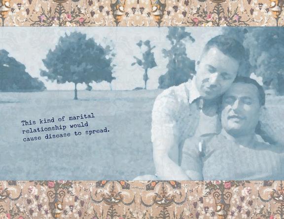 Unwedding exhibit proposal by Nava Atlas