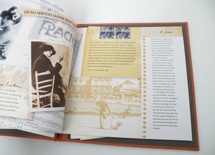 Dear Literary Ladies, limited edition artist's book by Nava Atlas