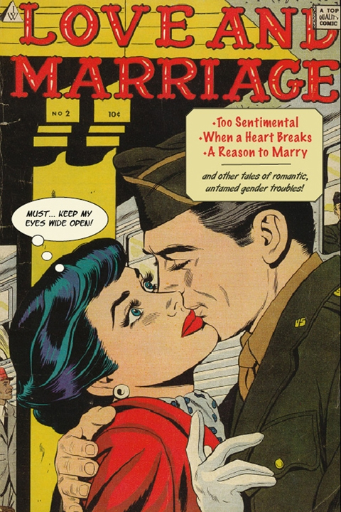 Love and marriage - altered romance comic