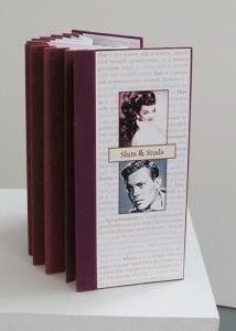 Sluts & Studs artist's book by Nava Atlas ©2008